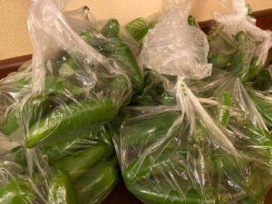 bags of jalapeños