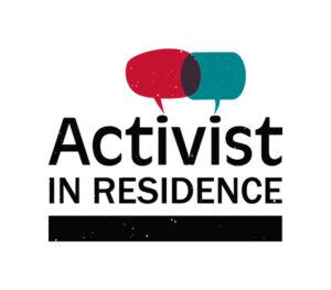 Activist in Residence Logo