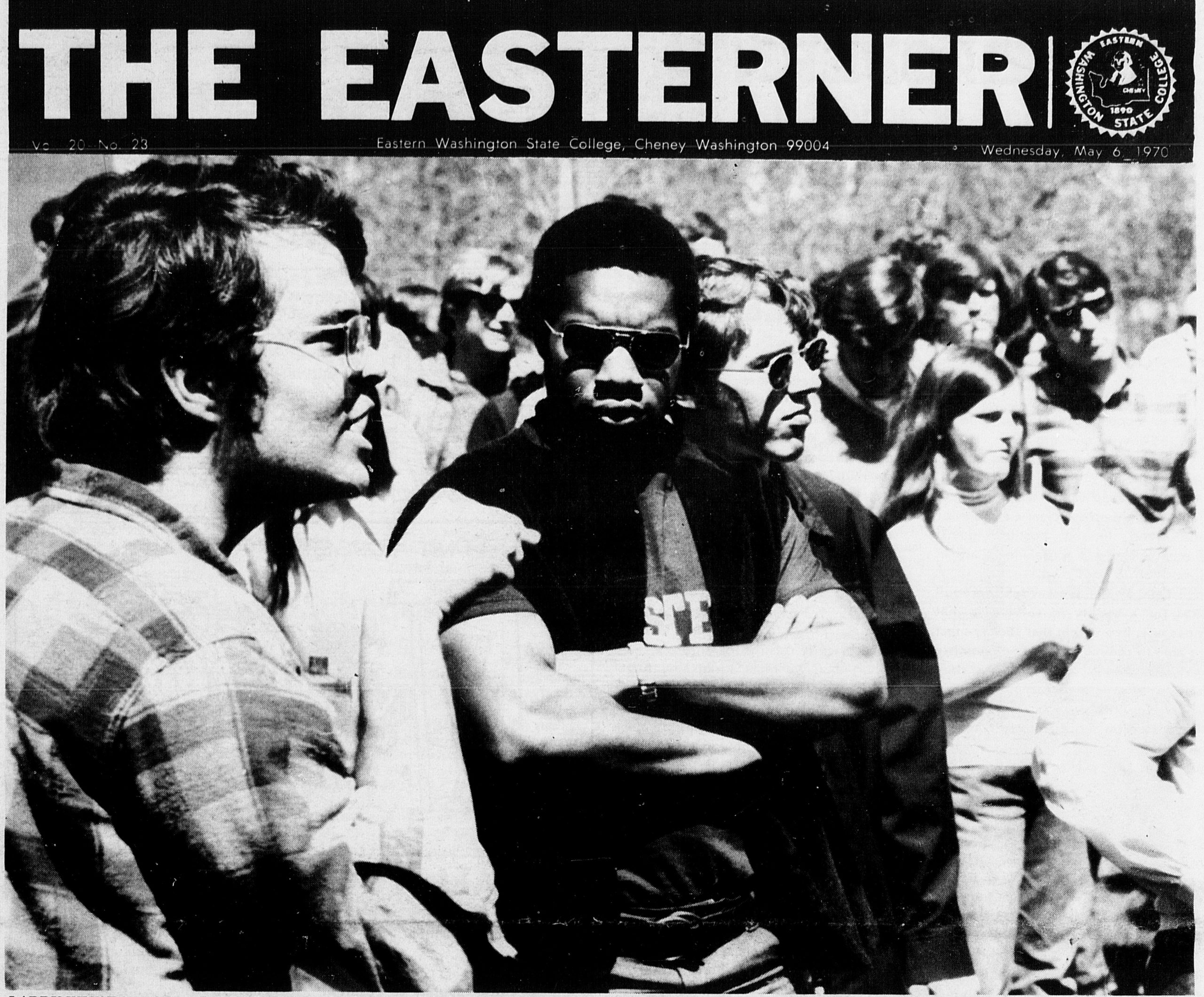 Cover of the Easterner, Vol. 20, no. 23, May 6, 1970