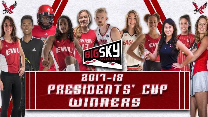 Photo: Group of EWU student-athletes