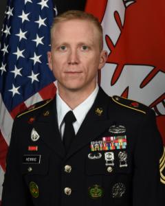 Portrait: Sergeant First Class (SFC) Jason Hennig