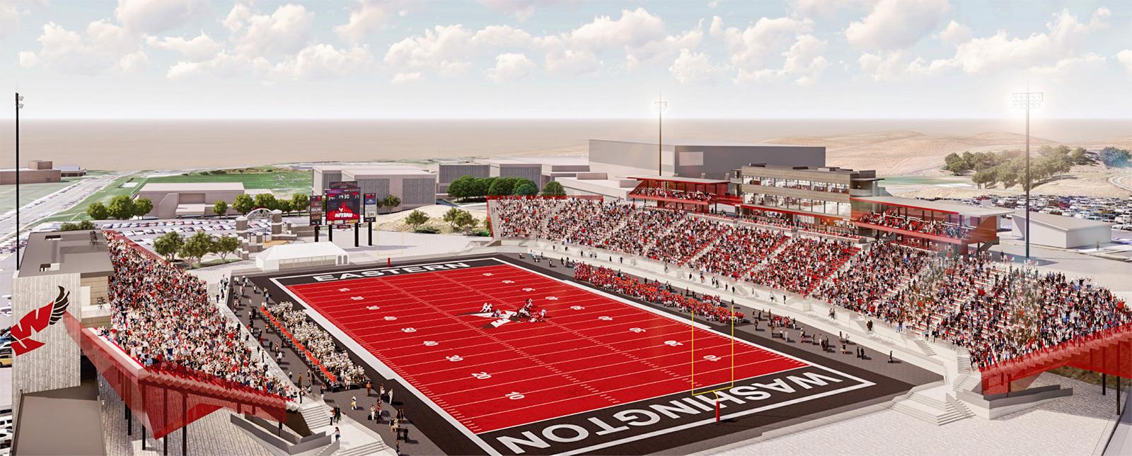 Ewu Financial Aid >> EWU Board Approves Football Stadium Recommendation ...